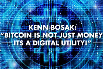 "Kenn Bosak: ""Bitcoin Is Not Just Money Its A Digital Utility!"""