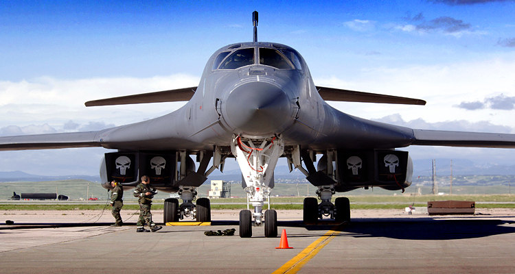 The Punishers – U.S. Preparing to Put Nuclear Bombers Back on 24-Hour Alert - B1 Lancer