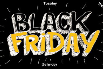 Black for Every Day of the Week - It Began With Gold on a Friday