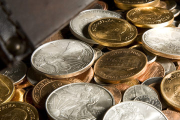 silver, gold prices