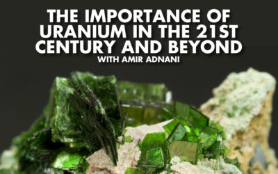 Amir Adnani is our very special Guest today, to discuss the Uranium Sector and the huge demand as the World embraces electricity over less efficient forms of energy. We discuss some amazing opportunities in the energy sector and Amir shares expert insights on the current outlook on Gold and what to expect if we see a Bitcoin style price breakout with Gold.