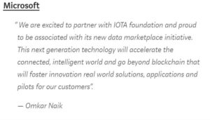 IOTA, The Next-Generation Blockchain, Partners With Cisco, Microsoft, and Many More