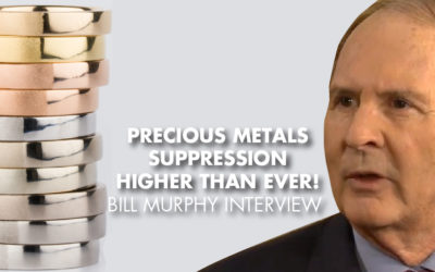 Precious Metals Suppression Higher Than Ever! - Bill Murphy Interview
