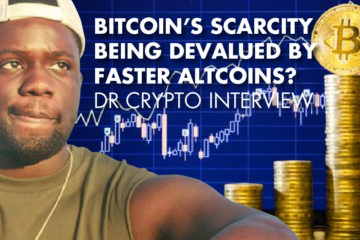 Bitcoin's Scarcity Being Devalued By Faster Altcoins? - Dr Crypto Interview