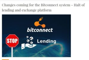 Popular MLM Platform Bitconnect Shuts Down Operations