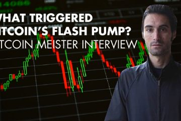 What Triggered Bitcoin's Flash Pump? - Bitcoin Meister Interview