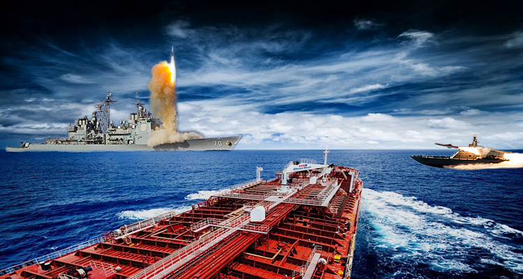 Oil Supertankers Attacked by Iranian Proxies in the Strategic Bab al-Mandeb Strait