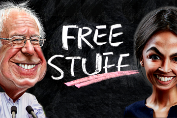 One of the Comrades' Free Stuff Programs Will Cost $32 Trillion