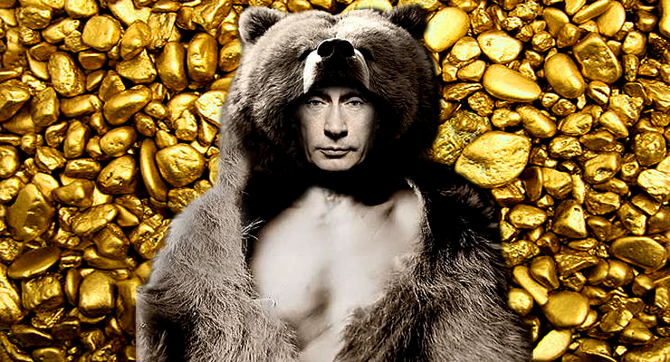 This Bear is a Bull as the Russian Central Bank Stockpiles a Gold Hoard