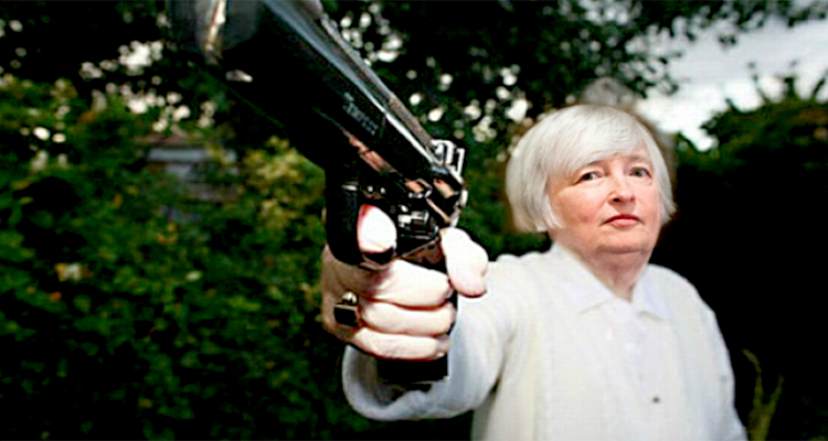 Yellen Flipped to a Financial Crisis Trigger in Your Lifetime