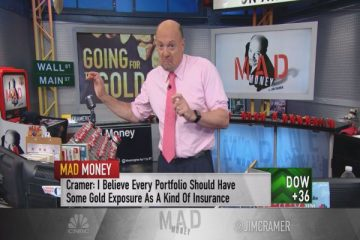 Cramer Says Buy Gold