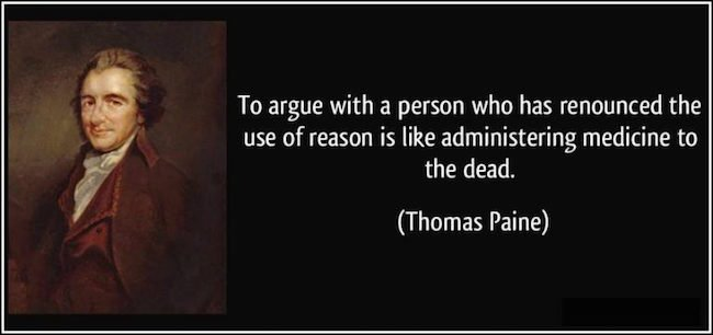 Thomas Paine on Reasoning with the Dead