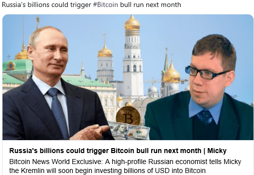 Russia Buying Bitcoin In February?