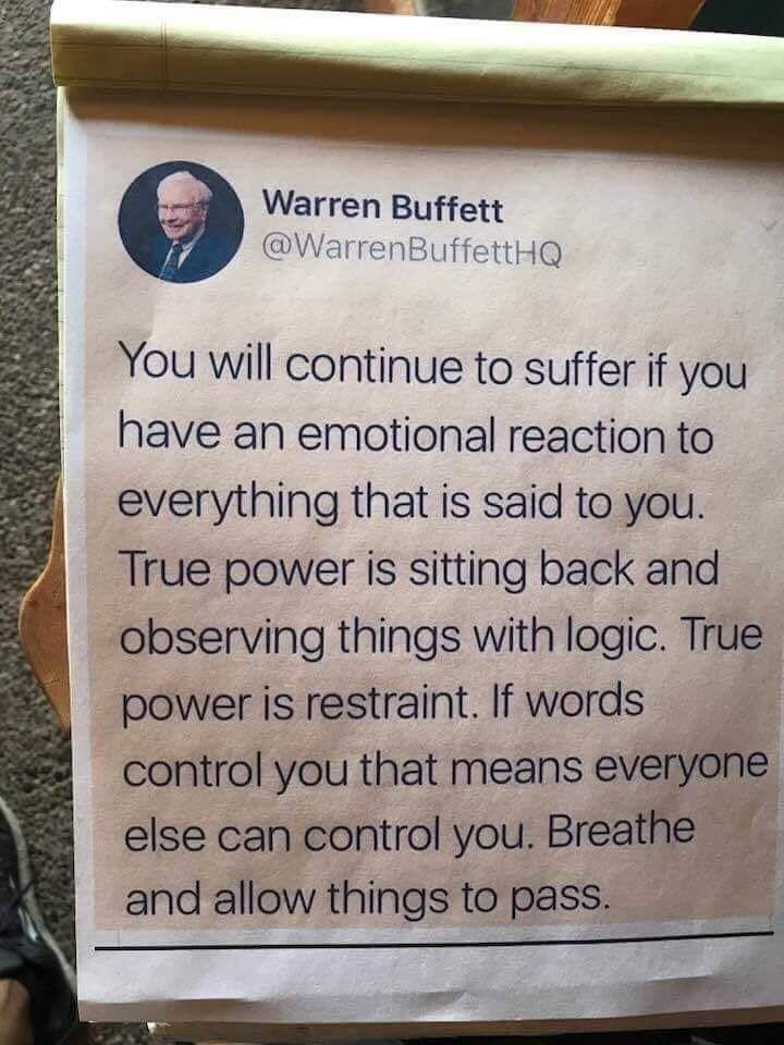 Warren Buffet vs Emotiona Investment-Trading Decisions