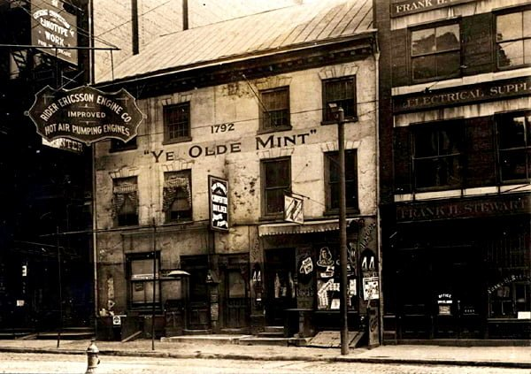 Ye Old Mint in Philadephia