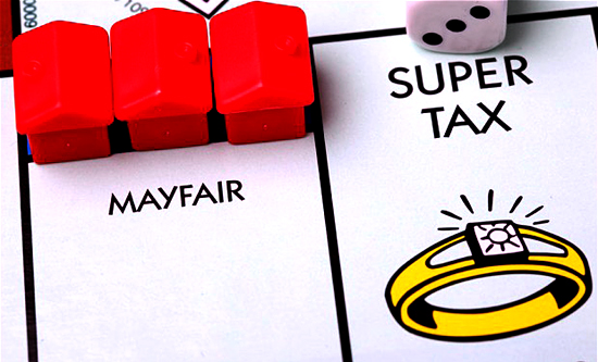 Super Tax on Monopoly Board Games