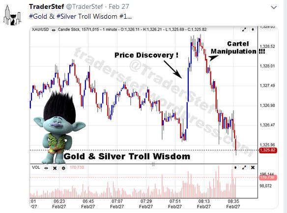 TraderStef on Twitter Gold Troll Wisdom 1