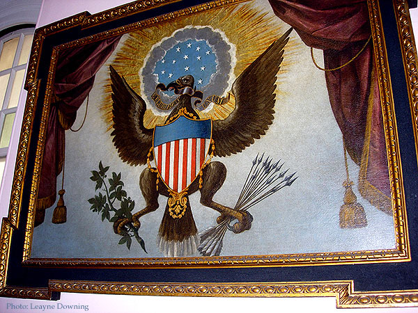 Great Seal of the United States in Trinity Church