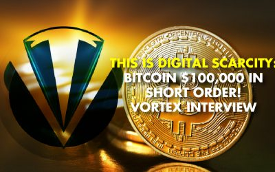 BITCOIN'S EPIC MOVE: Cryptocurrency Expert Vortex Sees Much More Upside