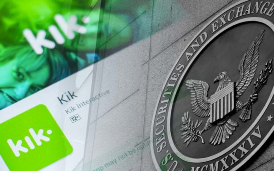 PLAYTIME IS OVER! The SEC is Suing Kik $100 Million for its 2017 ICO and KIN Token!