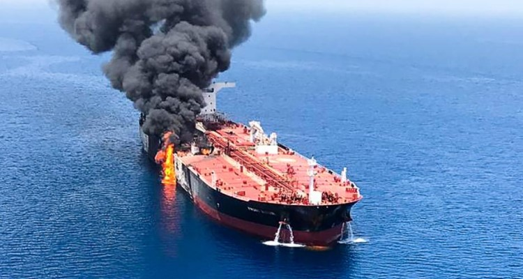 Oil Tanker Attacks Set Stage for Possible Armed Conflict