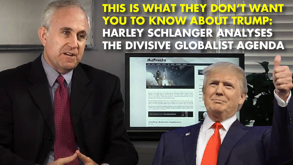 THIS IS WHAT THEY DON'T WANT YOU TO KNOW ABOUT TRUMP: Harley Schlanger Analyses The Divisive Globalist Agenda