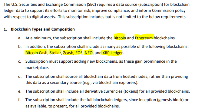 Will the SEC Be Running Its Own FULL BTC, ETH, and XRP Nodes to Watch Your Transactions?