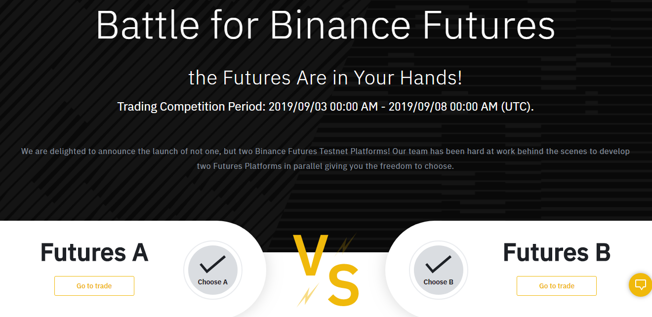 Binance Futures: The Futures are in Your Hands!