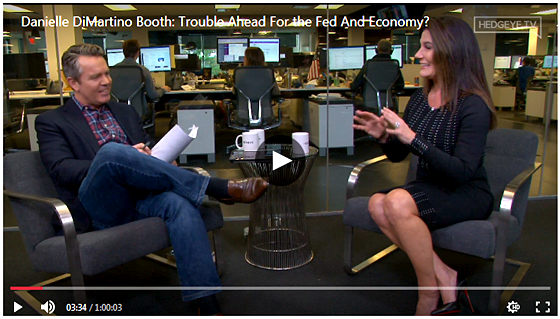 Danielle DiMartino Booth on Hedgeye - Trouble Ahead For the Fed And Economy Dec. 10, 2019