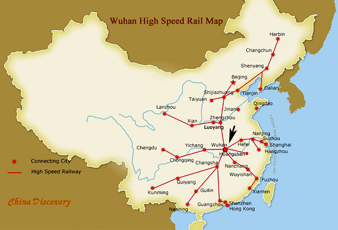 Wuhan China is a Main Transportation and Industrial Hub