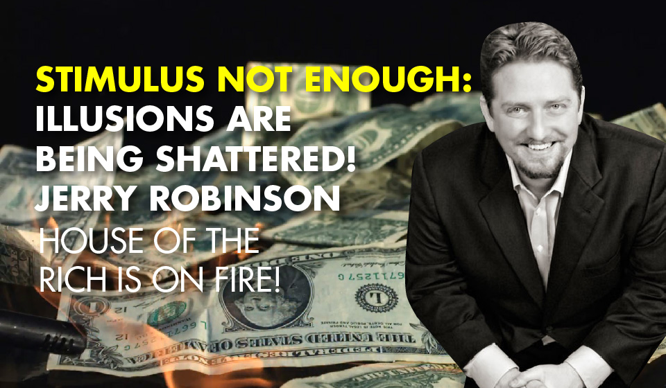 Stimulus Not Enough: Illusions are Being Shattered! – Jerry Robinson