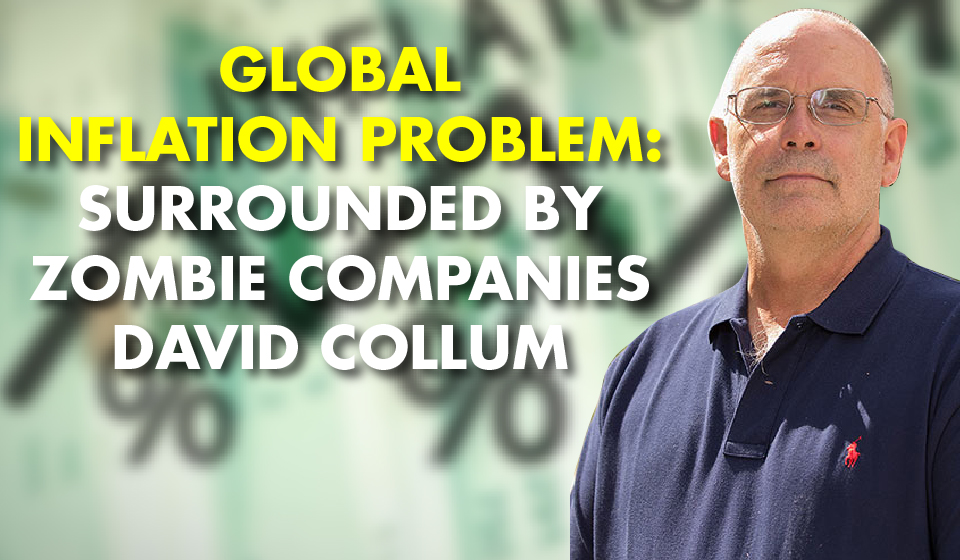 Global Inflation Problem: Surrounded by Zombie Companies- David Collum