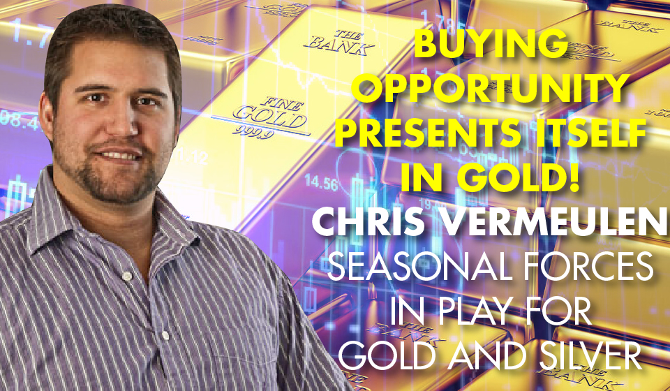 Buying Opportunity Presents Itself In Gold! – Chris Vermeulen