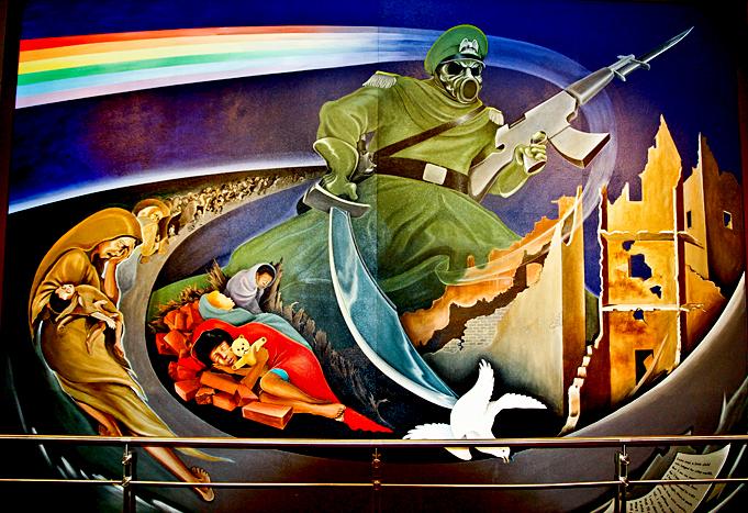 Denver International Airport Painting