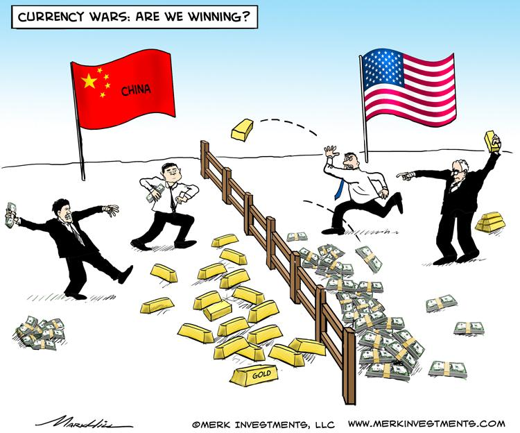 Gold Moves West to East - by Axel Merk
