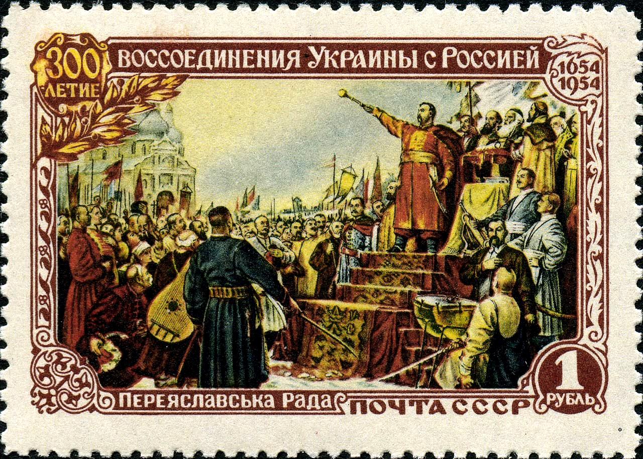 Russia Reunification With Ukraine in 1654