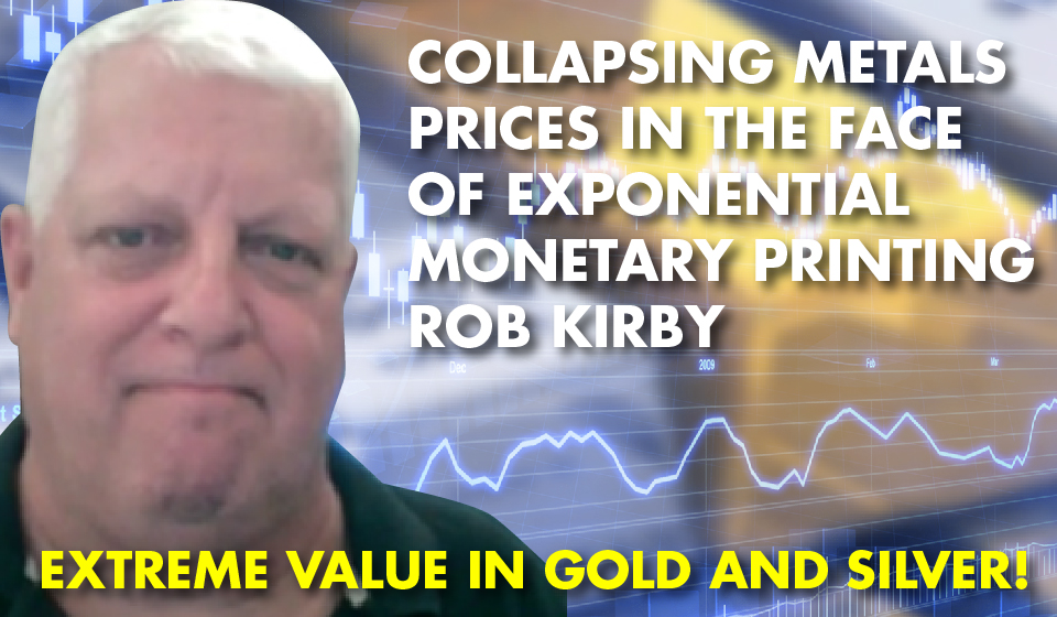 Collapsing Metals Prices in the Face of Exponential Monetary Printing – Rob Kirby