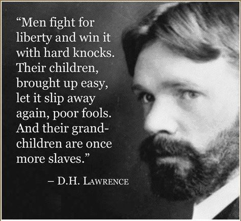 DH Lawrence Quote