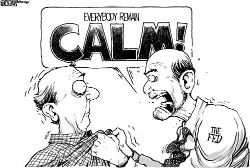 FED Keep Calm and Carry on