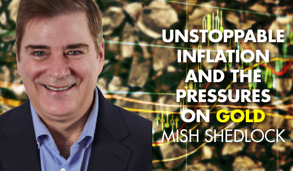 Unstoppable Inflation and the Pressures on Gold – Mish Shedlock