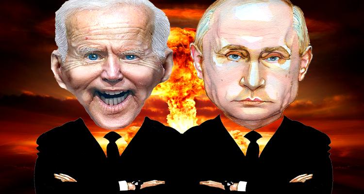 The Sit-Down Between Stumbling Biden and Poker Face Putin